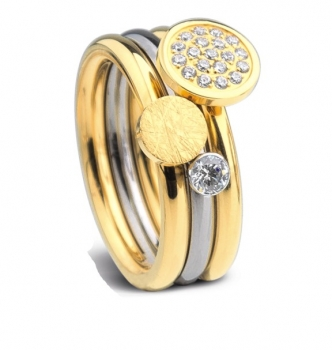 Ernstes Design evia-Ring Set R2057